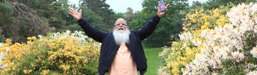 Swamiji in Alaska
